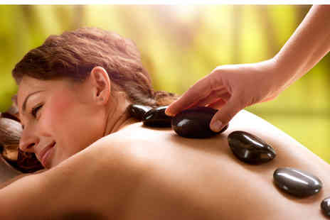 Prestige Lash Lounge - 55 minute full body hot stone massage - Save 65%