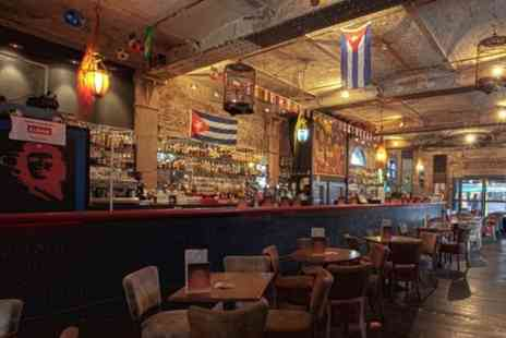 The Cuban - Tapas, paella and sangria for 2 - Save 62%