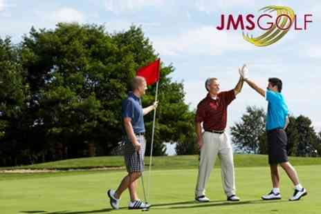 JMS Golf - PGA Golf Tuition Five One Hour Group Lessons - Save 75%