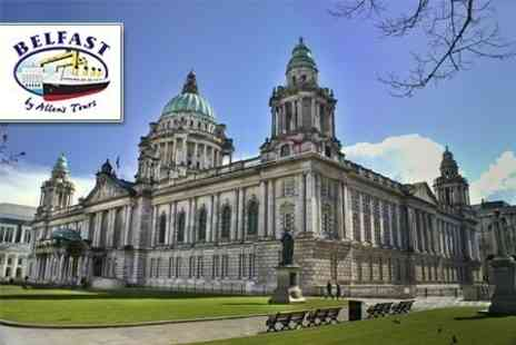 Belfast By Allens Tours - Open Top Bus City Tour For Two - Save 50%