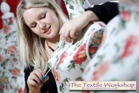 The Textile Workshop - Make Your Own Dress or Bag Choice of Six Hour Workshop - Save 68%