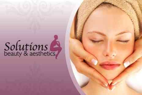Solutions - £22.50 for Dermalogica Facial plus Massage at Solutions £75 Value - Save 70%