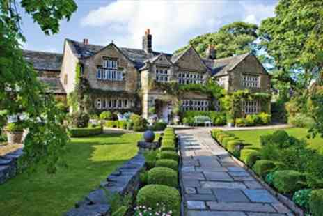 Holdsworth House Hotel - 1 Night Historic Yorkshire Getaway with dining - Save 50%