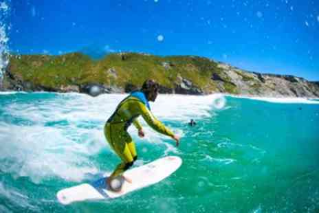 Newquay Activities - Summer Surfing Lesson on Newquay Beach - Save 50%