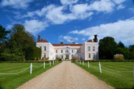 Hintlesham Hall Hotel - In Suffolk One Night Stay for Two - Save 42%