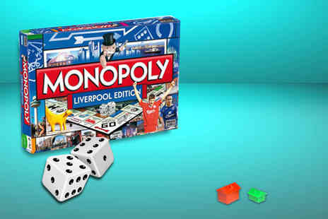 Winning Moves - Monopoly Liverpool regional edition - Save 24%