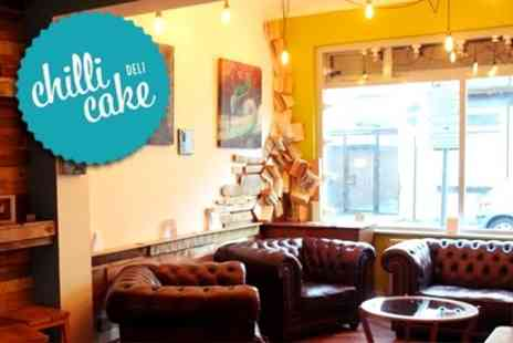 Chilli Cake Deli - Cream Tea For Two - Save 54%