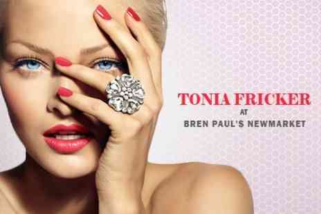 Tonia Fricker - 90 Minute Pamper Package Three Treatments Such as Mani, Pedi and Facial - Save 28%