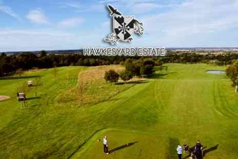 Hawkesyard Estate - Golf 18 Holes For Two or Four People - Save 78%