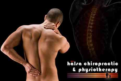 Halsa Care Centres - Chiropractic Consultation and Two Treatments - Save 77%