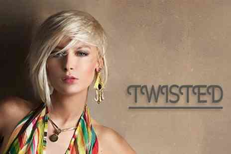Twisted - Restyle and Blow Dry With Conditioning Treatment - Save 60%