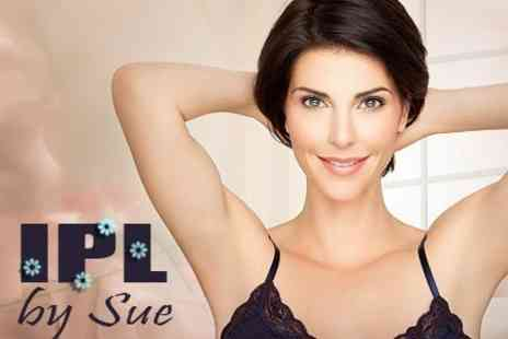 IPL by Sue - IPL Hair Removal Six Sessions on One Medium or Two Small Areas - Save 38%