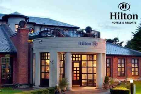 Hilton Puckrup Hall - Winter Wedding Package With Three Course Meal and Mulled Wine for Up to 50 Guests and Evening Buffet for Up to 80 Guests - Save 51%