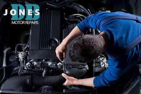 DB Jones Motor Repairs - Air Conditioning Service Plus Vehicle Health Check - Save 27%
