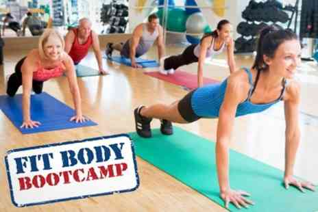 Fit Body Bootcamp - Four Week Indoor Boot Camp For One Person - Save 76%