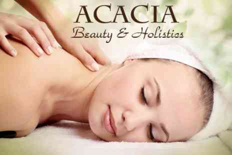 Acacia Beauty and Holistics - 45 Minute Swedish Full Body Massage Plus 30 Minute Luxury Facial - Save 61%