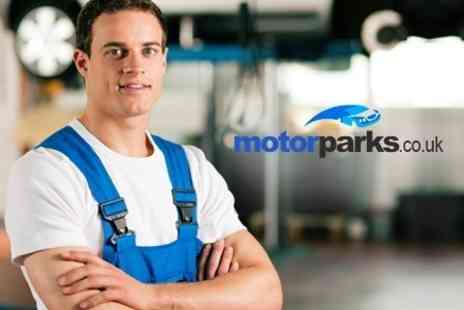 Motorparks - MOT Test Plus Spruce and Shine - Save 78%