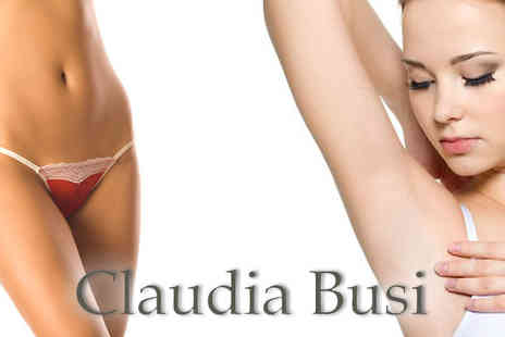 Claudias Hair - Underarm and bikini wax - Save 78%