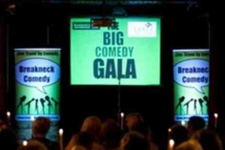 Breakneck Comedy - Four Tickets to Choice of Comedy Show - Save 69%