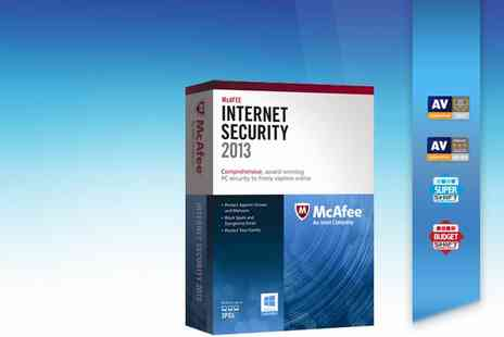 McAfee - McAfee Internet Security 2013 3 Users - Save 60%