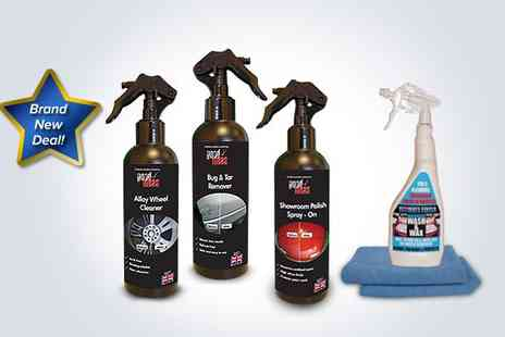 Good Ideas - Wash, wax and polish car cleaning bundle - Save 50%