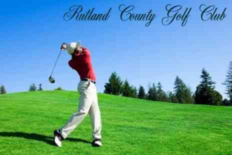Rutland County Golf Club - Golf 18 Holes For Two - Save 66%