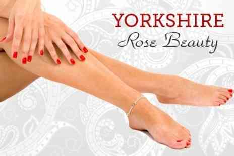 Yorkshire Rose Beauty - Mani Pedi or Shellac Manicure - Save 54%