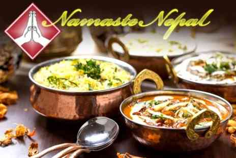 Namaste Nepal - Two Course Indian Meal With Drink For Two - Save 49%
