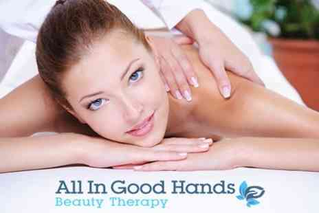 All In Good Hands - Massage and Facial - Save 38%