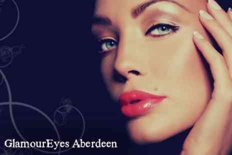GlamourEyes - Eyelash and Eyebrow Tint Plus Eyebrow Wax - Save 50%
