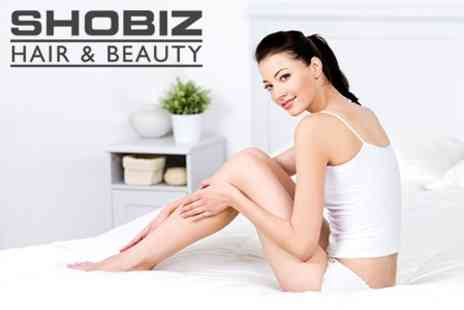 Shobiz Hair and Beauty - IPL Hair Removal Six Sessions on Small Area - Save 68%