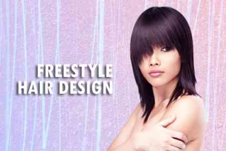 Freestyle Hair Design - Cut, Conditioning Treatment and Blow Dry - Save 50%