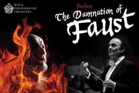 Royal Philharmonic Orchestra - Ticket to See The Damnation of Faust With a Glass of Prosecco - Save 45%