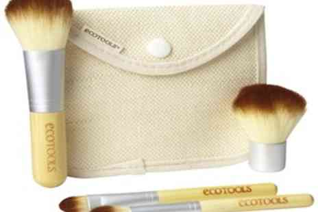 EggSnog - Organic 5 Piece Make Up Brush Set From Ecotools Perfect - Save 70%