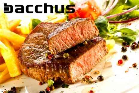 Bacchus Glasgow - Two Course Meal For Two - Save 56%
