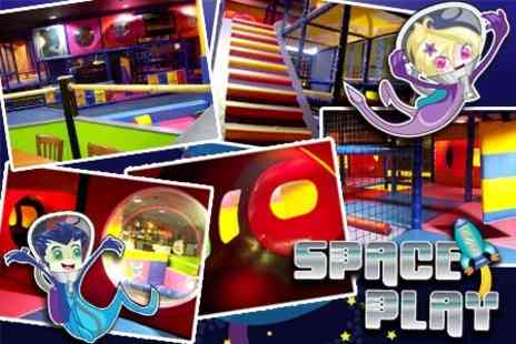 Space Play - Soft Play Family Admission For One Session With Drinks and Snacks - Save 60%