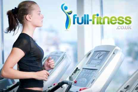 Full Fitness - Gym Membership One Months Access - Save 50%