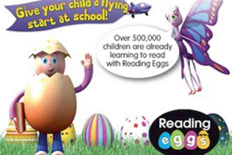 Reading Eggs - 12 Month Subscription to Reading Eggs - Save 55%