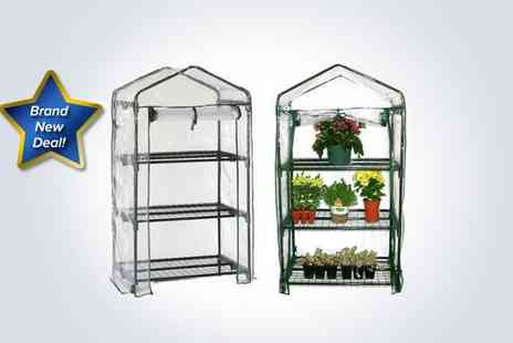Better Bargains - Three tier greenhouse and replaceable cover - Save 56%