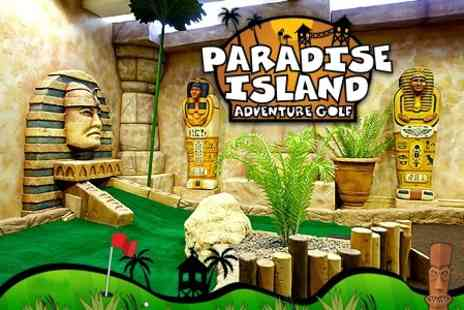 Paradise Island Adventure Golf  - 18 Holes of Mini Golf For Two - Save 57%