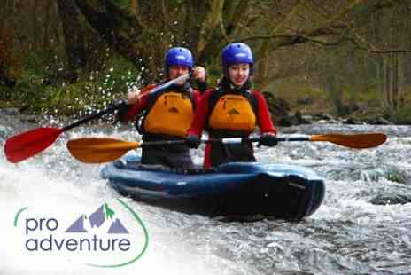 ProAdventure - Three Hours of Inflatable White Water Kayaking - Save 51%