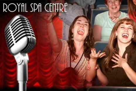 The Royal Spa Centre - Comedy Ticket to Choice of Act For Two With Glass of Pimms Each - Save 56%