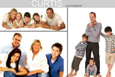 Bob Curtis Photography - Group Photoshoot With Canvas Wrap, Four Prints and DVD Slideshow - Save 89%