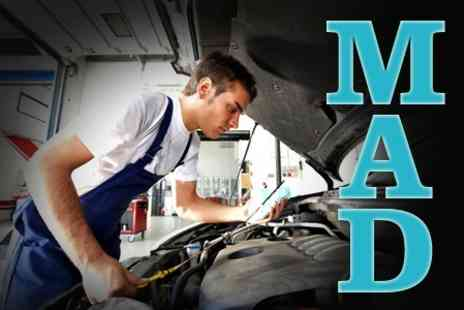 MAD Advanced Vehicle - Air Conditioning Service and ReGas - Save 53%