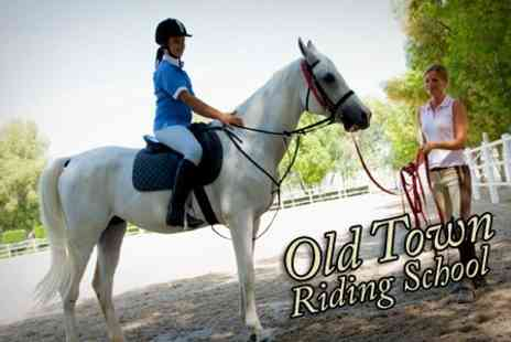 Old Town Riding School - Horse Riding One Hours of Private Lessons - Save 63%