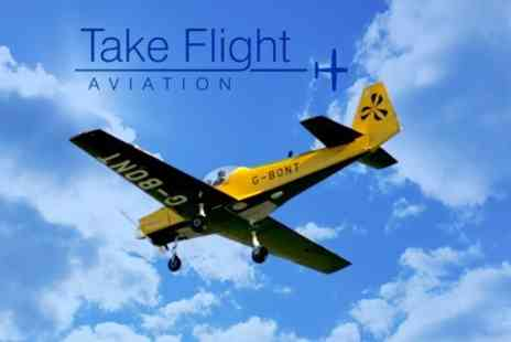 Take Flight Aviation - Aerobatic Flying Lesson - Save 34%