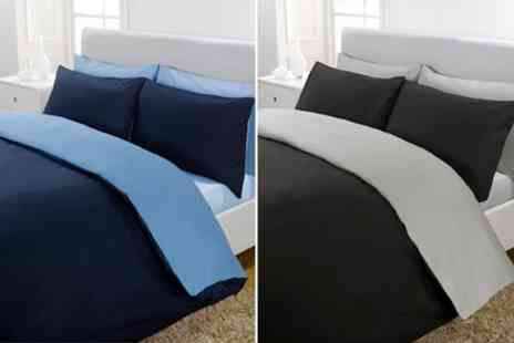 Dynergy - Reversible Duvet Set in Choice of Colours - Save 24%