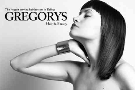 Gregorys Hair and Beauty - Cut and Blow Dry With KMS Conditioning Treatment - Save 60%