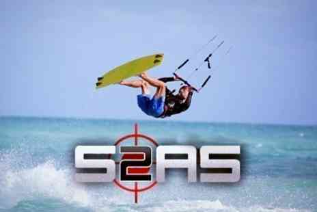 Surface2Air Sports - Kitesurfing Half Lesson - Save 50%