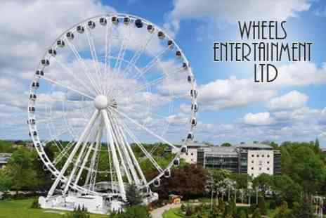 Wheels Entertainment - Two Tickets to Ride The Wheel of York By Day or Night - Save 65%
